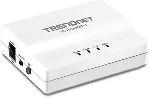 TRENDnet 1-Port Multi-Function USB Print Server TE100-MFP1 (Version v1.0R) (Mf Fax Print)