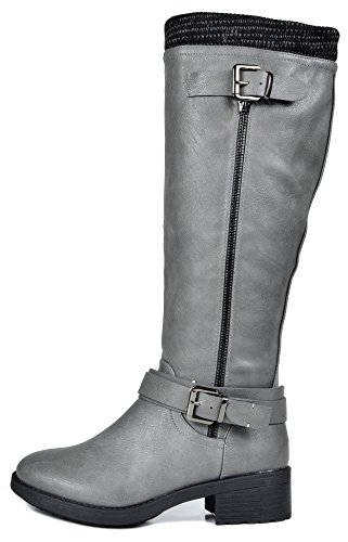 DREAM Boots Turtle Winter Knee PAIRS Grey Riding Motorcycle Women's High rR1Fwrq