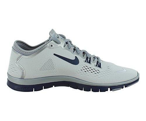 Nike Frauen Free 5.0 Tr Fit 5 Prt Trainingsschuh Frauen US Spiel Weiß Royal Wolf Grey