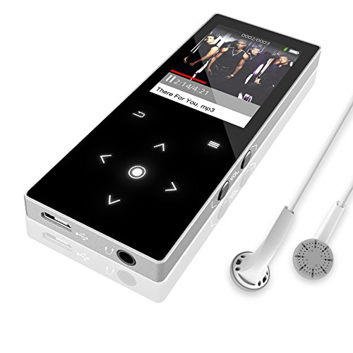 Dansrue MP3 Music Player with Bluetooth, 8GB Portable Lossle