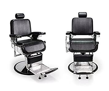 DUO 2 BLACK LINCOLN Barber Chairs Barbershop U0026 Beauty Salon Furniture U0026  Equipment