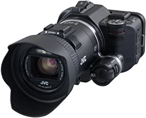 JVC GC-PX100BEU - Videocámara Full HD (12.8 MP, WiFi, Pantalla 3 ...
