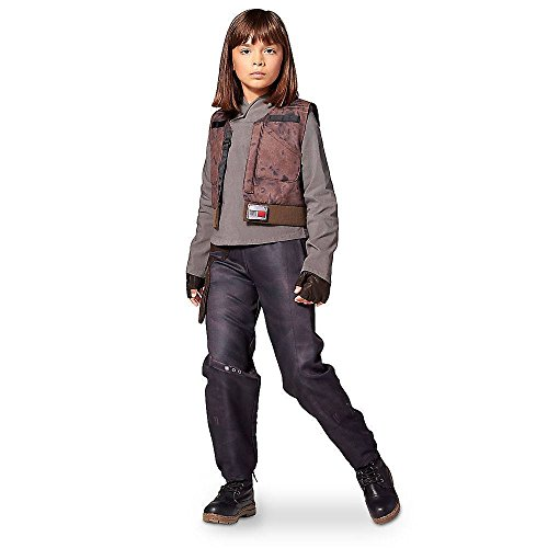 DISNEY STORE STAR WARS ROGUE ONE SGT JYN ERSO COSTUME ~ GIRLS (13) ()