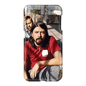 Shock Absorption Hard Phone Cover For Samsung Galaxy S6 (wXH3335cXLZ) Unique Design Realistic Foo Fighters Band Pictures