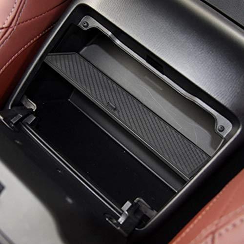 Lopbinte Guantera de Coche Almacenamiento a Intervalos para MX-5 RF Miata 2015-2019 Caja de Limpieza de la Consola de Almacenamiento Caja de Almacenamiento Central Negra