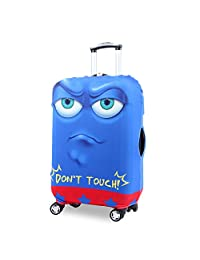 Myosotis510 Cute 3D Luggage Protector Suitcase Cover 18-32 Inch