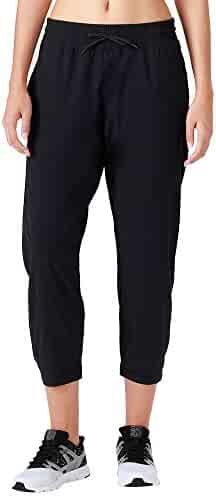 80cc6817a4df77 Naviskin Women's UPF 50+ Sun Protection Outdoor Capri Pants Lightweight Workout  Running Jogger Yoga Capri