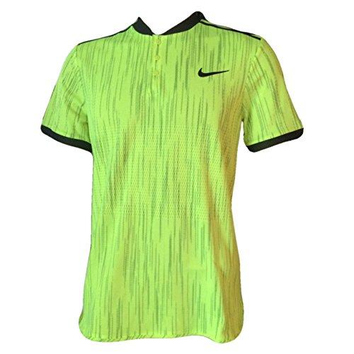 Nike Men's NikeCourt Dry Advantage Printed Polo