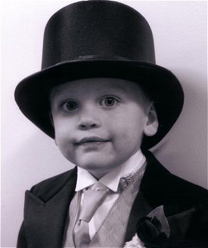 121f6d22b1ea Amazon.com  Boys Black Satin Top Hats for Children Made in USA ...