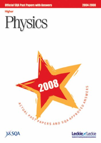Physics Higher SQA Past Papers 2008 pdf epub