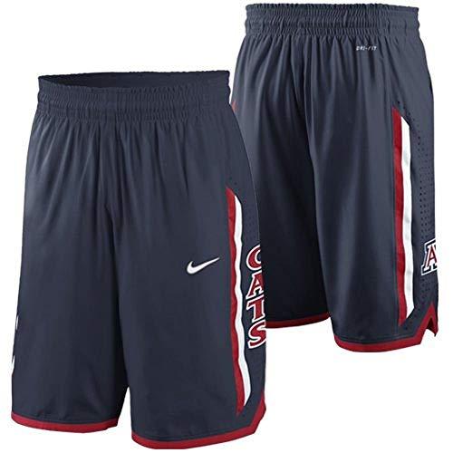 - Nike Arizona Wildcats Dri-Fit Authentic Basketball Shorts (Medium) Navy