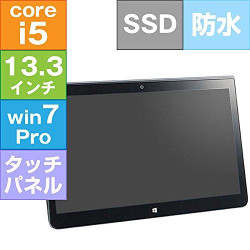 リファビッシュ FUJITSU 13.3型 ARROWS Tab Q736/M [FARQ08009] (Core i5-6300U 2.4GHz/ 4GB/ SSD 128GB/ Windows7Pro32)