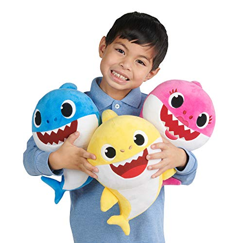 41 eeM%2B0FNL - Pinkfong Baby Shark Official Song Doll - Baby Shark - By WowWee