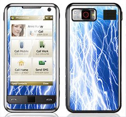 Amazon.com: Lightning Strike Skin for Samsung Omnia i900 and i910
