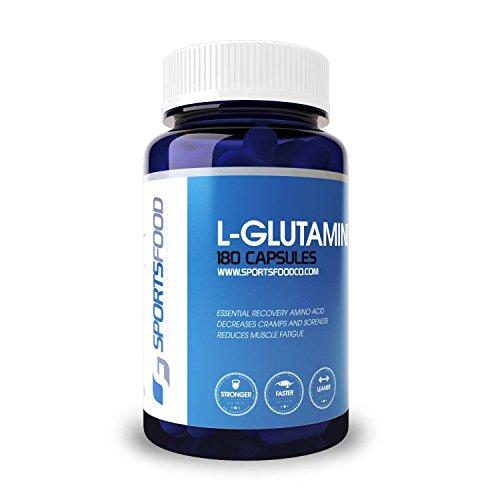 L-Glutamine 1000 mg x 180 comprimés, plus grande pureté sur Amazon, Formulation d'Absorption maximale