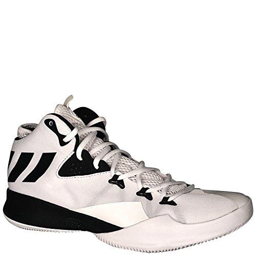 Adidas Dubbele Bedreiging 2017 Schoen Basketbal Van Mensen Runningwhite / Coreblack / Runningwhite