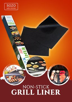 Oven Grill Liners Mat Liner product image