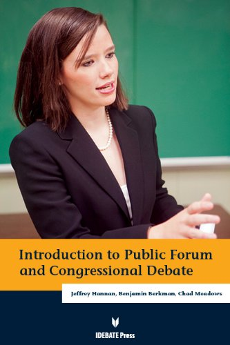 Introduction to Public Forum & Congressional Debate