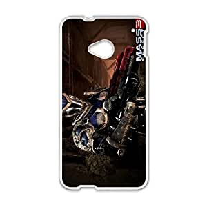Mass Effect HTC One M7 Cell Phone Case White GY066075
