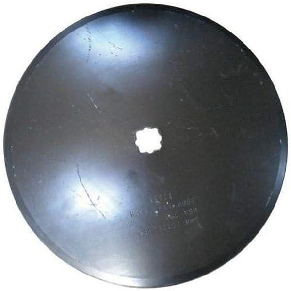 "NEW *LOT OF 2 * 16/'/' SMOOTH Disc Harrow Blades HEAVY DUTY 1/"" or 1 1//8/"" SQ"