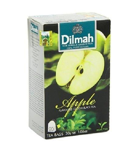 Dilmah, Tea, Single Origin Pure Ceylon Tea (Apple, 20 Tea Bags (Pack of (Was A Apple Tea)