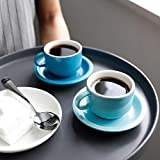 Sweese 404.003 Porcelain Stackable Espresso Cups