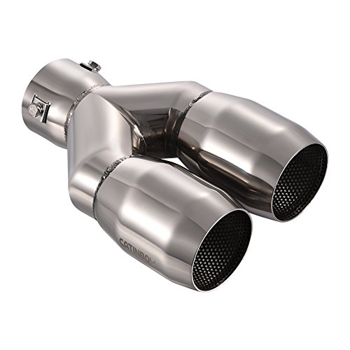 Double Wall Steel Pipe - Catinbow Dual Exhaust Tips 2.5