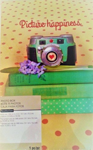 Picture Happiness, My Life in Pictures Photo Memory Storage Box 4 3/8'' x 7 7/8'' x 11 3/8'' by Recollections