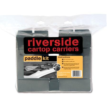 Riverside Cartop Carriers Paddle Carrier Kit by Riverside