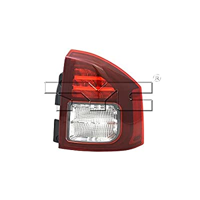 TYC 11-6447-90-1 Compatible with JEEP Compass Right Replacement Tail Lamp: Automotive