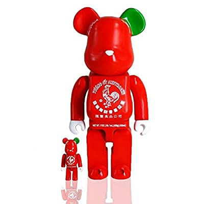 SDCC 2015 Exclusive BAIT x Medicom Sriracha Sketracha Bearbrick Set Sket One
