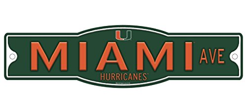 Ncaa Miami Hurricanes Street Sign (Miami Hurricanes 4