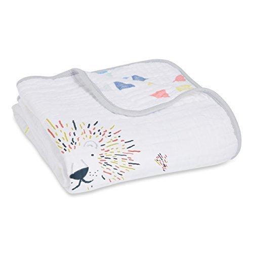 aden + anais Dream Blanket | Boutique Muslin Baby Blankets for Girls & Boys | Ideal Lightweight Newborn Nursery & Crib Blanket | Unisex Toddler & Infant Bedding, Shower & Registry Gift, Leader of Pack by aden + anais