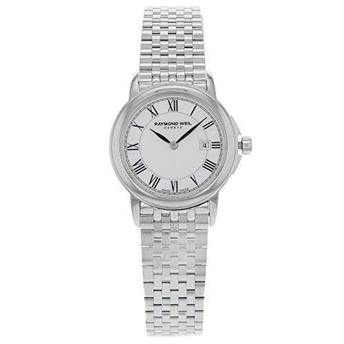 Raymond Weil Women's 5966-ST-00970 Tradition Analog Display Swiss Quartz Silver Watch
