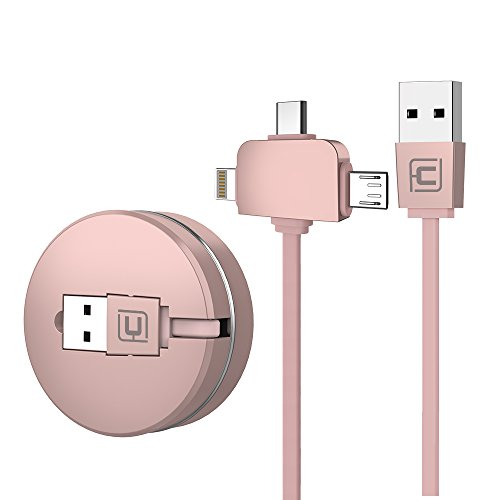 retractable charging cable