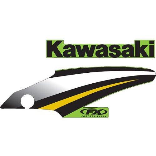 FACTORY EFFEX 05 STYLE GRAPHICS KAWASAKI KX-125/250 03-07 (05 Kx 250 Graphics)