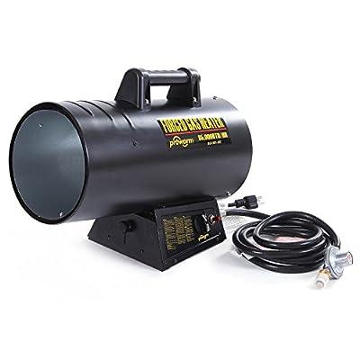 PROWARM Portable Propane Forced Air Heater 50000-85000BTU