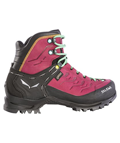 Salewa Women's Ws Rapace Gore-Tex High Rise Hiking Boots, Tawny Port-Limelight, 4.5 UK Rot (500)