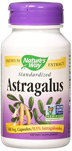 Nature's Way Astragalus Standardized 60 Vcaps