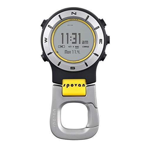SUSOCSAO Waterproof Elementum II Multifunction Outdoor Sports Handheld Clock Dance Barometer Altimeter Thermometer Compass 2 (2) - Clock Altimeter Compass