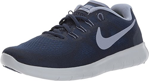 Nike Free RN 2017 Binary Blue/Dark Sky Blue/Obsidian Women's Running Shoes Size 8 (Womens Nike Id)
