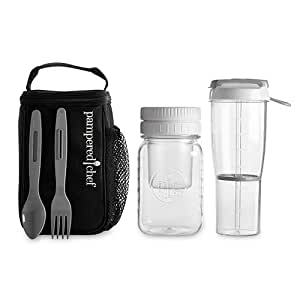 Amazon Com Pampered Chef Deep Make Amp Take Lunch Pack