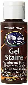 DecoArt Americana Gel Stains Paint, 2-Ounce, Walnut