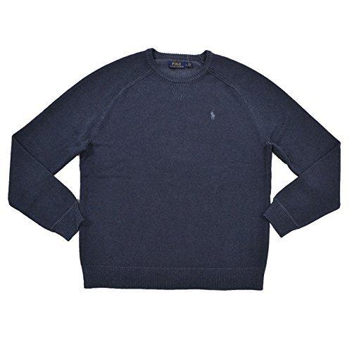 Polo Ralph Lauren Mens Crew Neck Pullover Sweater (XL, (Ralph Lauren Mens Pullover)