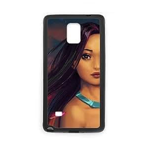Pocahontas Samsung Galaxy Note 4 Cell Phone Case Black as a gift V2102129