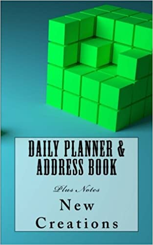 daily planner address book plus notes new creations
