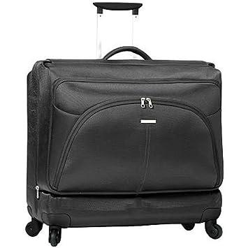 ffda2fc3c Samsonite X'ion Spinner Wheeled Garment Bag, Black: Amazon.co.uk: Luggage