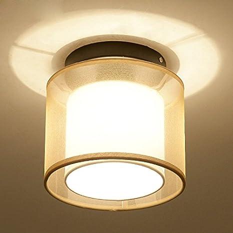YI.LAN.YI Lights - Lámpara de techo LED de rundschreiben ...