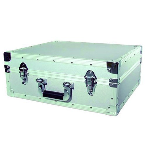 Turntablecase-S-, colore: argento Omnitronic 30123222