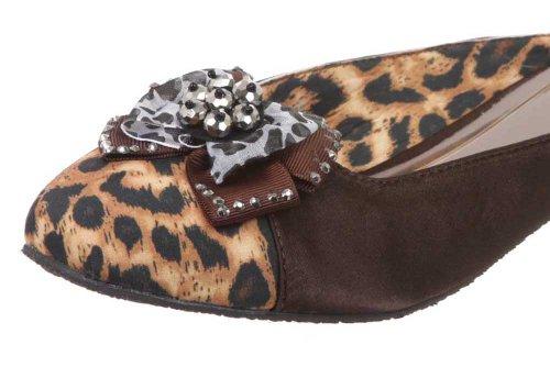 JohnFashion - Sandalias de vestir para mujer marrón